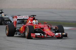 28.03.2015 - Qualifying, Sebastian Vettel (GER) Scuderia Ferrari SF15-T